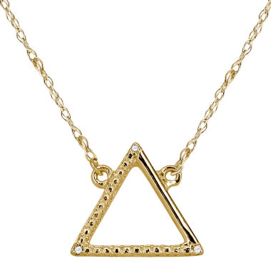 jcpenney.com | Diamond Accent 14K Yellow Gold Necklace