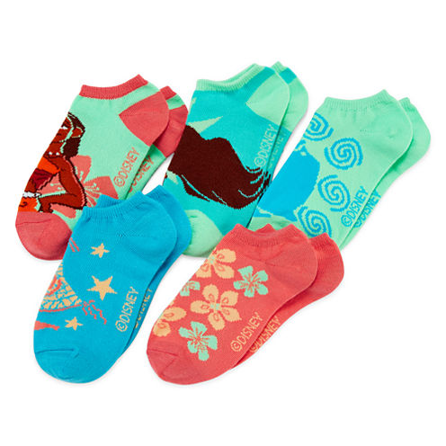 Disney Moana 5-pk. Socks - Girls
