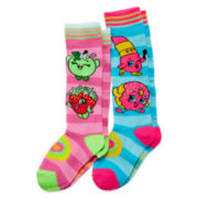 Shopkins 2-pk. Knee Socks - Girls