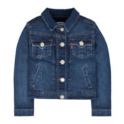 Levi's® Trucker Jean Jacket - Toddler Girls 2t-4t