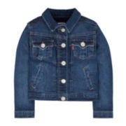 Levi's® Attitude Denim Trucker Jacket - Preschool Girls 4-6x