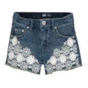 Levi's® Crochet Shorties - Preschool Girls 4-6x