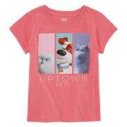 Paw Patrol Short-Sleeve Uptown Pets Tee - Preschool Girls 4-6x