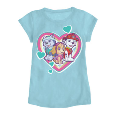 jcpenney.com | Paw Patrol Love Short-Sleeve Tee - Toddler Girls 2t-4t