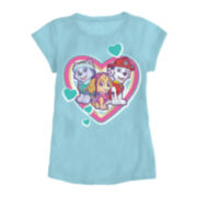 Paw Patrol Love Short-Sleeve Tee - Toddler Girls 2t-4t