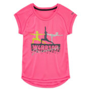 Reebok® Short-Sleeve Warrior Tee - Girls 7-16