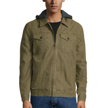 jcpenney.com | Levi's® Hooded Trucker Cotton Jacket