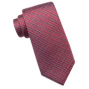 Collection By Michael Strahan Riverside Circle Geo Silk Tie