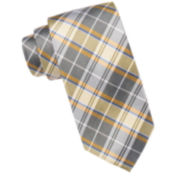 Stafford® Astor Plaid Silk Tie