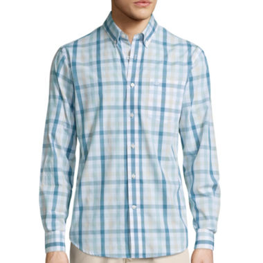 jcpenney.com | Dockers® Long-Sleeve Roadmap Woven Shirt - Big & Tall