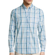 Dockers® Long-Sleeve Roadmap Woven Shirt - Big & Tall