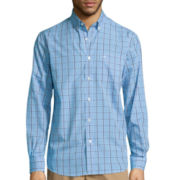 Dockers® Long-Sleeve Grid Shirt - Big & Tall