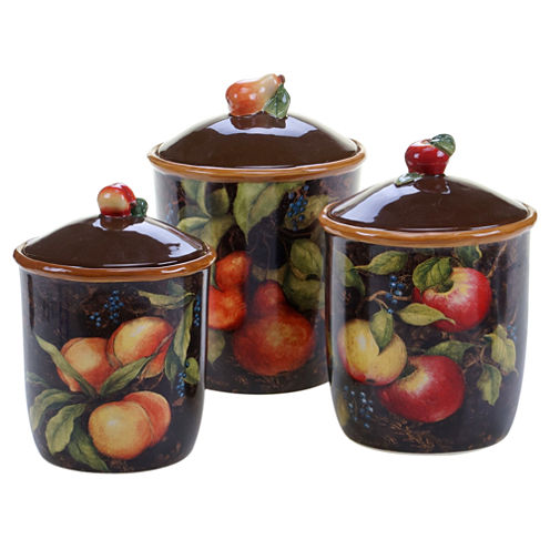 Certified International Capri 3 Pc. Canister Set