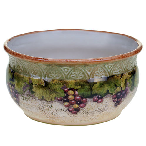 Certified International Sanctuary Wine Deep Bowl