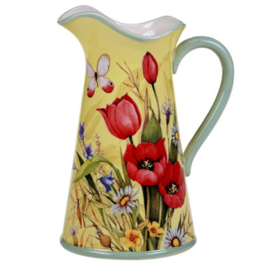 jcpenney.com | Certified International Floral Bouquet Pitcher