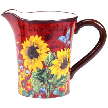 jcpenney.com | Certified International Sunflower Meadow Pitcher