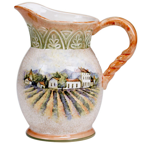 Certified International Sanctuary Wine Pitcher