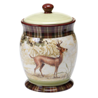 jcpenney.com | Certified International Rustic Nature Biscuit Jar