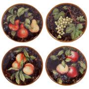 "Certified International Capri Set of 4 8.75"" Dessert Plates"