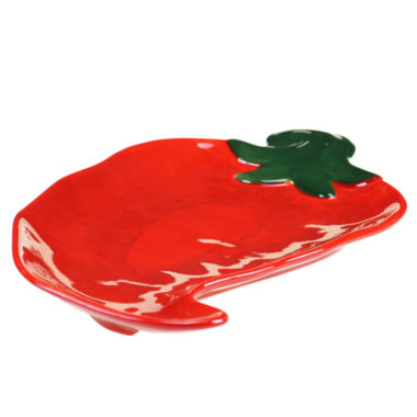 jcpenney.com | Certified International Salsa 3D Chili Pepper Platter