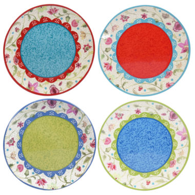 jcpenney.com | Certified International Anabelle Set of 4 Salad Plates