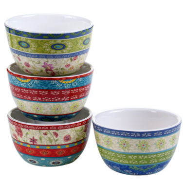 jcpenney.com | Certified International Anabelle Set of 4 Ice Cream Bowls