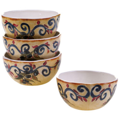 jcpenney.com | Certified International Umbria Set Of 4 Ice Cream Bowls