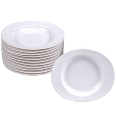 jcpenney.com | Certified International Ellipse Set of 12 Canapé Plates