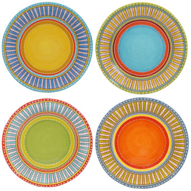 jcpenney.com | Certified International Valencia Set of 4 Dinner Plates