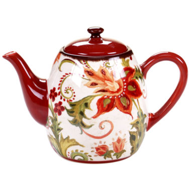 jcpenney.com | Certified International Spice Flowers Teapot