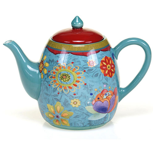 Certified International Tunisian Sunset Teapot