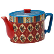 Certified International French Country Teapot