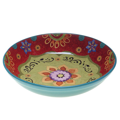 Certified International Tunisian Sunset Serving Bowl