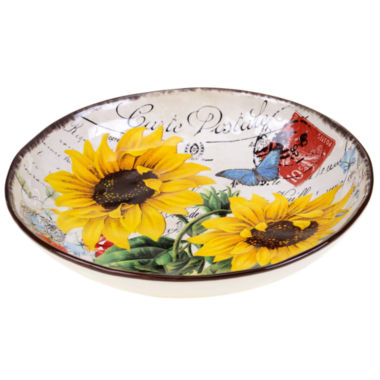 jcpenney.com | Certified International Sunflower Meadow Pasta Serving Bowl