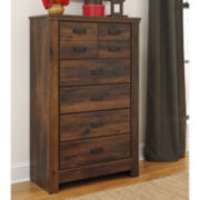 Signature Design by Ashley® Quinden 5-Drawer Chest