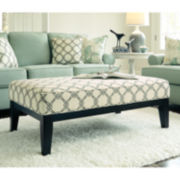 Signature Design by Ashley® Daystar Oversized Accent Ottoman