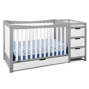 jcpenney.com | Graco® Remi 4-In-1 Convertible Crib and Changer