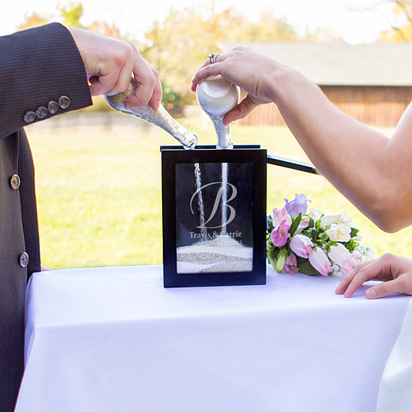 Jcpenney Gift Registry Wedding: Cathys Concepts Unity Sand Ceremony Shadow Box Set