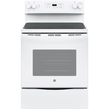 "jcpenney.com | GE® 5.3 cu. ft. 30"" Free-Standing Electric Range"""