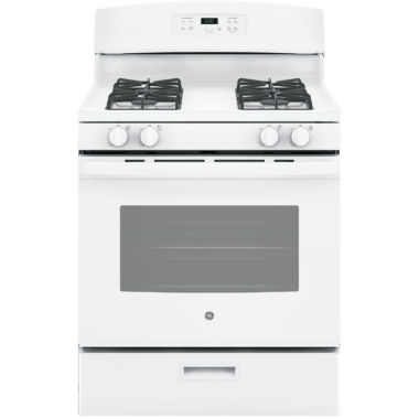 "jcpenney.com | GE® 4.8 cu. ft. 30"" Free-Standing Gas Range"