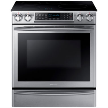 jcpenney.com | Samsung 5.8 Cu. Ft. Slide-In Induction Range With Virtual Flame™