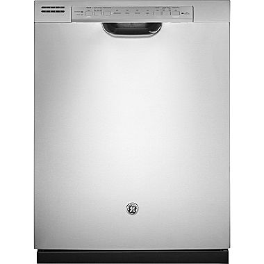 Ge Stainless Steel Interior Dishwasher With Front Controls Gdf570sgjww Jcpenney