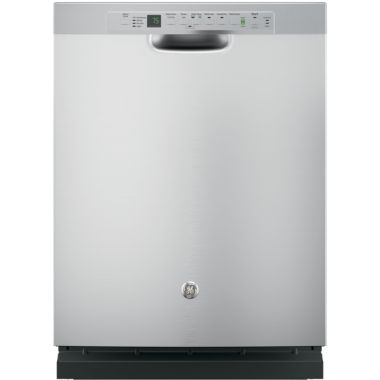 jcpenney.com | GE® Stainless-Steel Interior Dishwasher with Front Controls