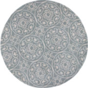 Donny Osmond Harmony by KAS Heritage Round Rug