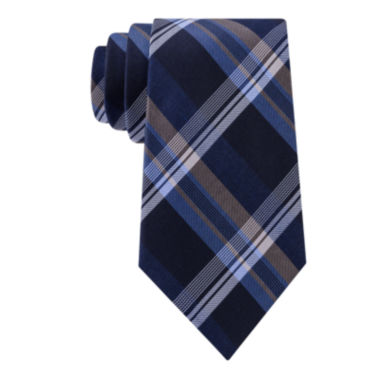 jcpenney.com | Stafford® Lakefront Plaid Tie