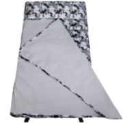 Wildkin Gray Camo Easy-Clean Nap Mat