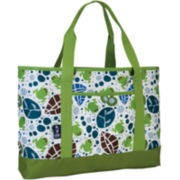 Wildkin Lily Frogs Carry-All Tote