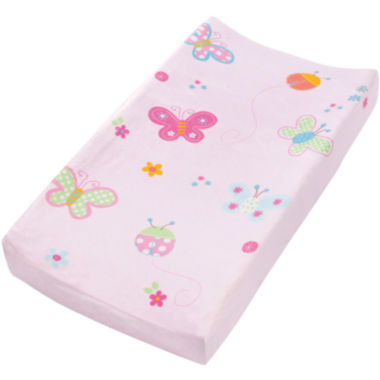 jcpenney.com | Summer Infant® Plush Pals Changing Pad Cover - Butterfly Ladybug