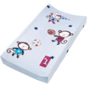 Summer Infant® Plush Pals Changing Pad Cover - Team Monkey