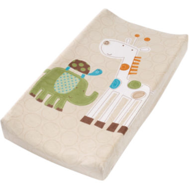 jcpenney.com | Summer Infant® Plush Pals Changing Pad Cover - Safari Stacks